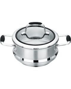 Multi Steamer Insert with lid 16/18/20cm