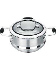 Multi Steamer Insert with lid 16/18/20cm