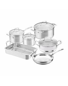Impact 6pc Cookware Set incl  Roasting Pan